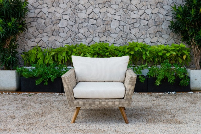 canary pe wicker outdoor furniture armchair