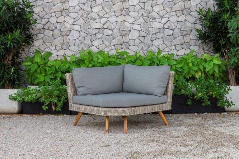 canary outdoor furniture single sofa