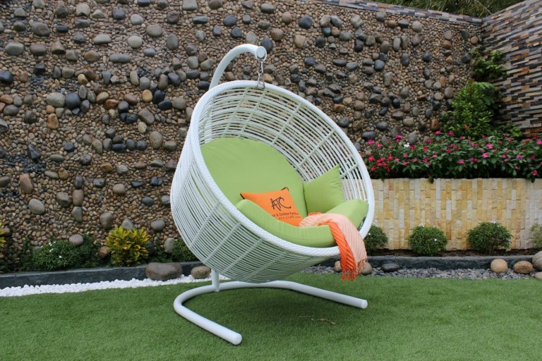 eagle poly rattan furniture outdoor egg hammock hanging chair