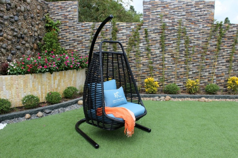 eagle wicker garden furniture rattan hammock hanging chair