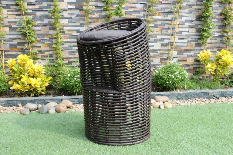 eagle rattan furniture wicker bar chair