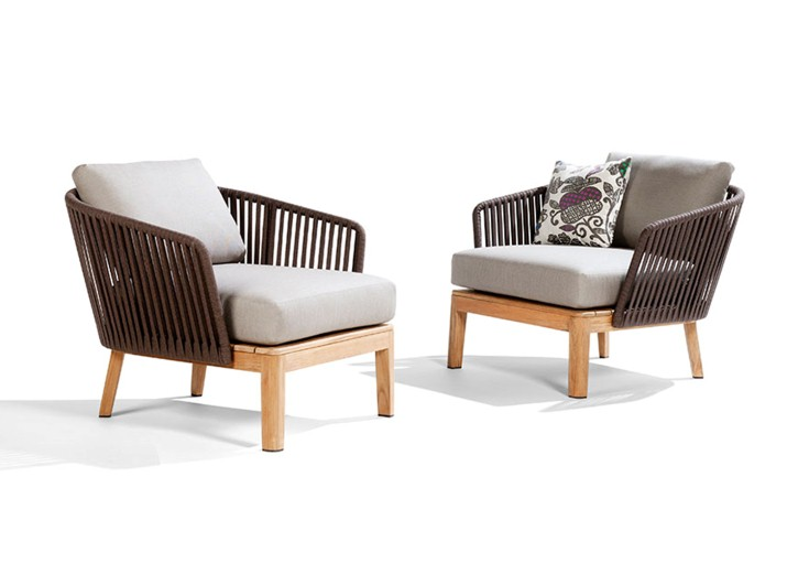 eagle outdoor furniture wooden armchair
