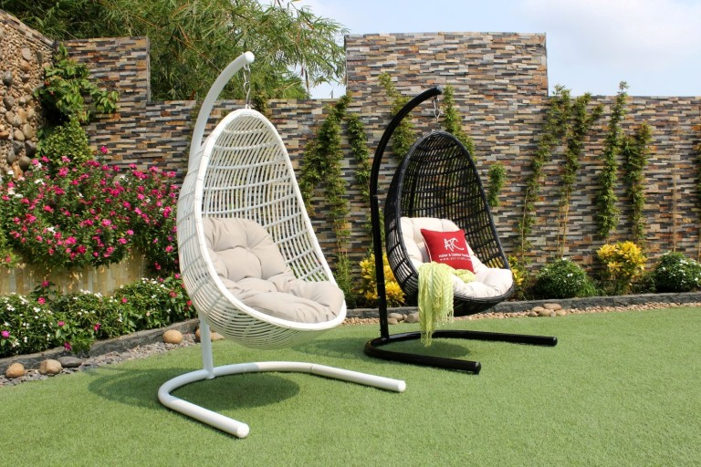eagle garden furniture wicker egg hammock hanging chair