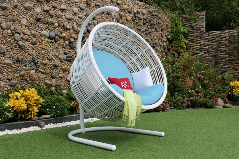 eagle outdoor rattan furniture wicker egg hammock hanging chair