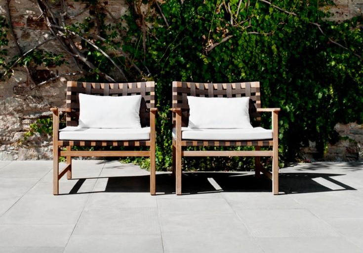 eagle teak patio furniture wooden armchair
