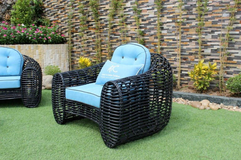 eagle garden furniture poly wicker armchair