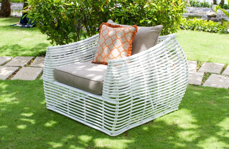 eagle poly rattan furniture patio armchair