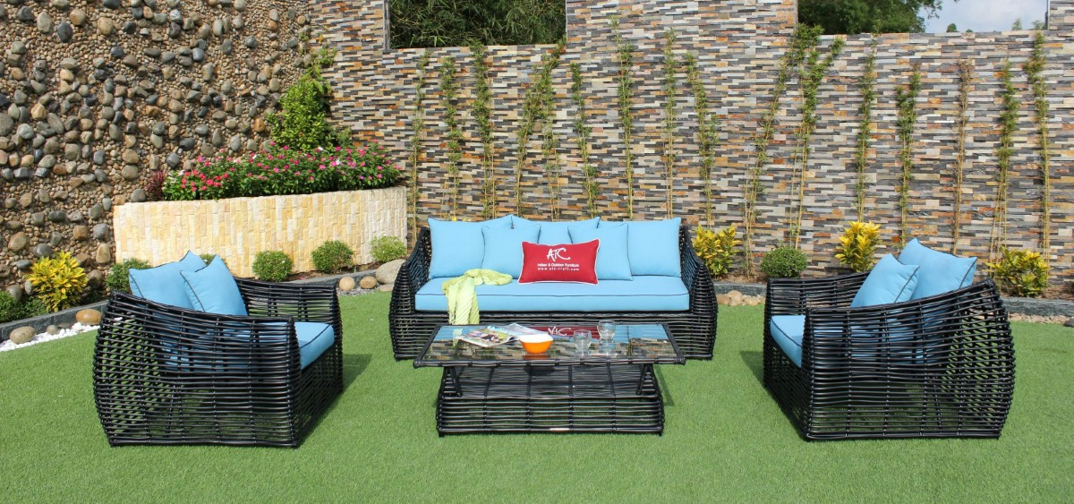 eagle garden furniture pe wicker sofa set