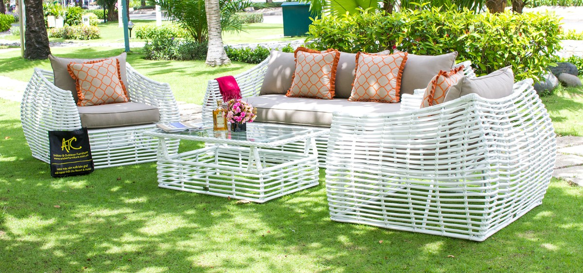 eagle patio furniture poly rattan sofa set