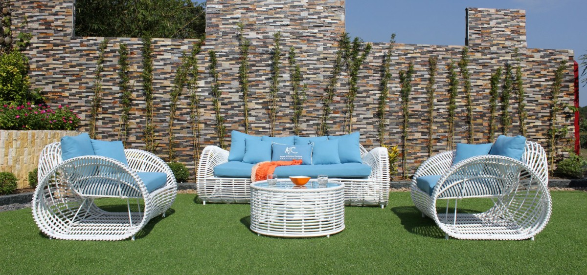 eagle outdoor furniture pe wicker sofa set