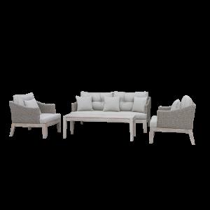 Bộ Sofa chỗ ngồi sâu nhưng không cồng kềnh
