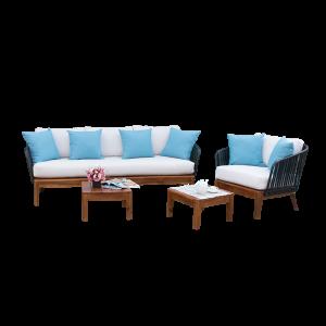 Bộ sofa sân vườn thiết kế độc đáo