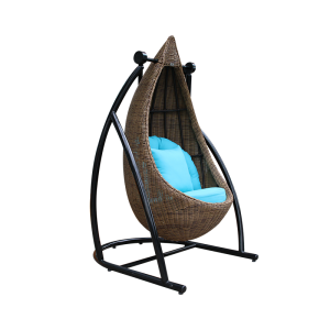 Ghế xích đu ngoài trời với khung nhôm chịu thời tiết