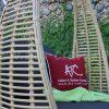 Vải ngoài trời chống nước ghế xích đu elip RAHM-003