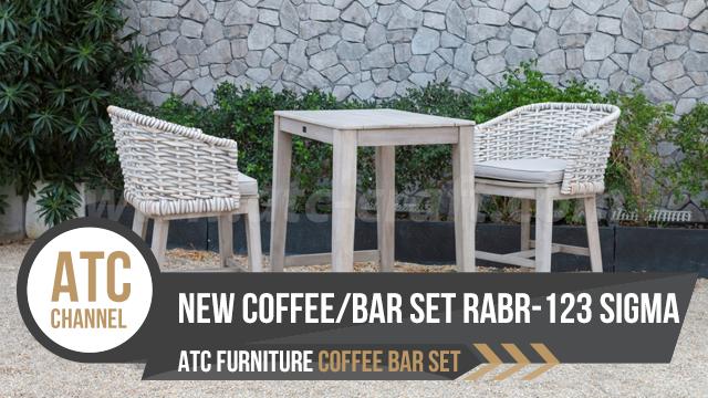 Bộ Nội Thất Quán Cafe Bar RABR-123 SIGMA 2018