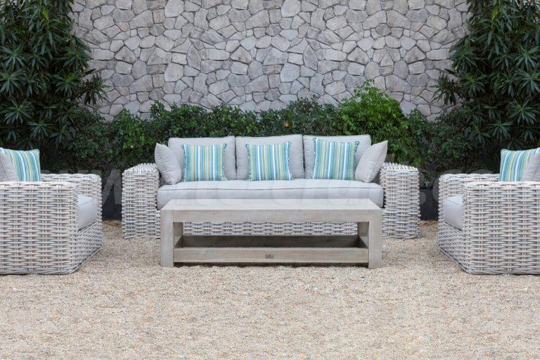 Bộ Sofa Ngoài Trời Mây Nhựa với bàn gỗ SIGMA 2018 RASF-178 Style 1 3