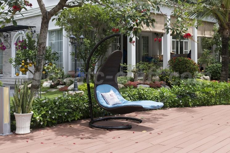 ghế xích đu là lựa chọn hoàn hảo để thư giãn