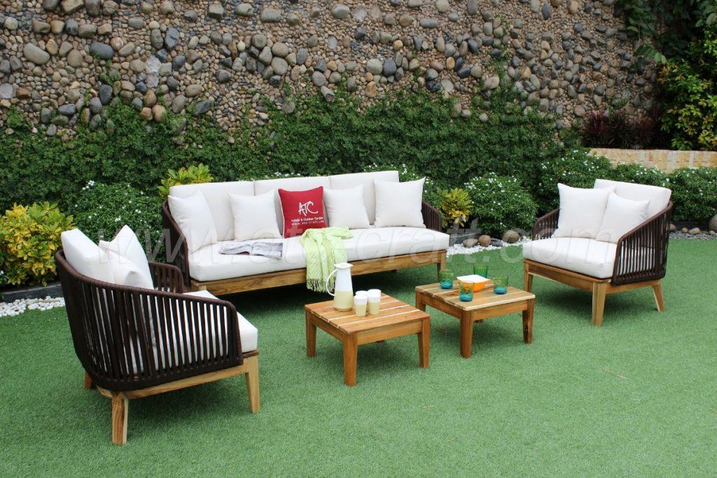 RASF-111 Bộ bàn ghế sân vườn hiện đại, độc đáo và ấn tượng
