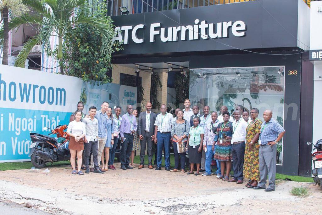 ATc Furniture đón chào đoàn khách đến từ các công ty nội thất khắp nơi trên toàn thế giới