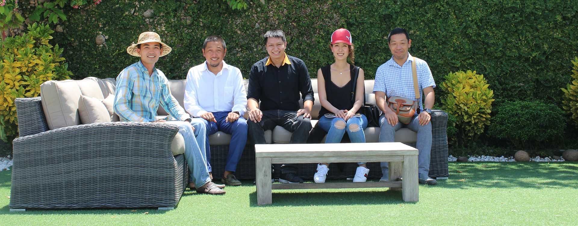 ATC Outdoor Patio Furniture Manufacturer Client Visits