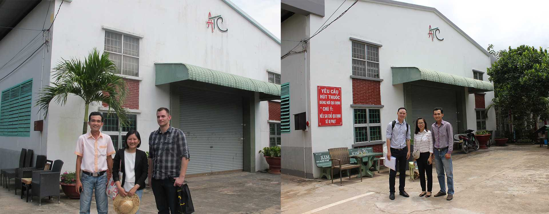 ATC Vietnam Furniture Factory Client Visit