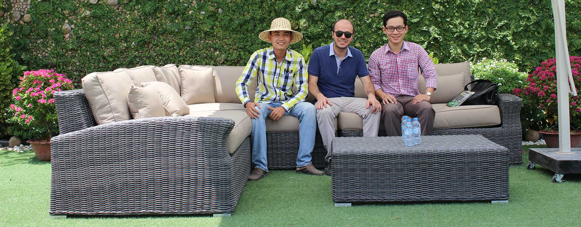 ATC Wicker Patio Furniture Manufacturer Factory Visiting