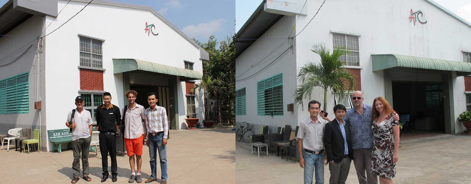 Vietnam Patio Furniture Factory Client Visits