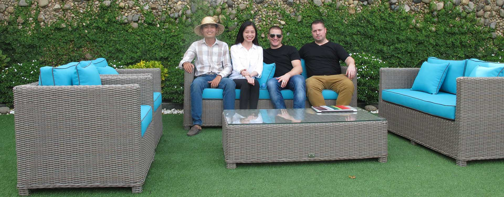 Vietnam Patio Furniture Factory Visiting